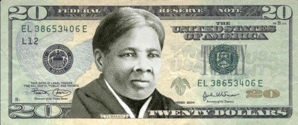 Women on the 20s Harriet Tubman womenon20s