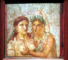 Mercimoni nei lupanari dell'antica Roma