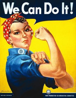 We can do it Rosie the riveter simbolo femminista