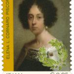 Elena Lucrezia Cornaro Piscopia prima laureata filosofa francobollo italiane eccellenti