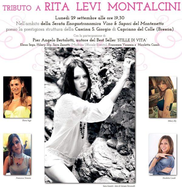 Tributo a Montalcini ma le foto sono di miss